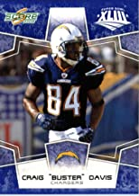 2008 Score SuperBowl Blue NFL Football Card - (Limited to 1200 Made) # 265 Craig