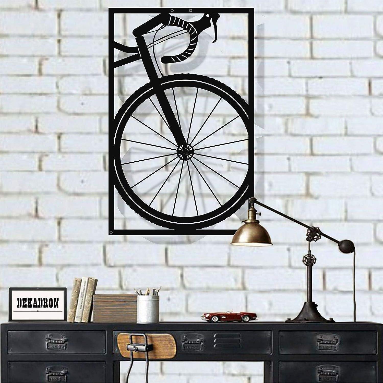 Amazon Com Metal Wall Art Bicycle Wall Art Bike Art Metal Metal Wall Decor Home Decoration Living Room Decor 28 W X 43 H 71x110 Cm Everything Else