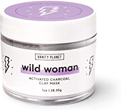 Vanity Planet Wild Woman Activated Charcoal Clay Mask, 1 Ounce
