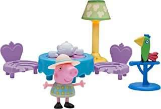 Peppa Pig Little Rooms Tea Party Playset
