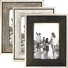 3er Picture Frame White Antique Shabby Frame Wall Frame Photo Frame Collage Band