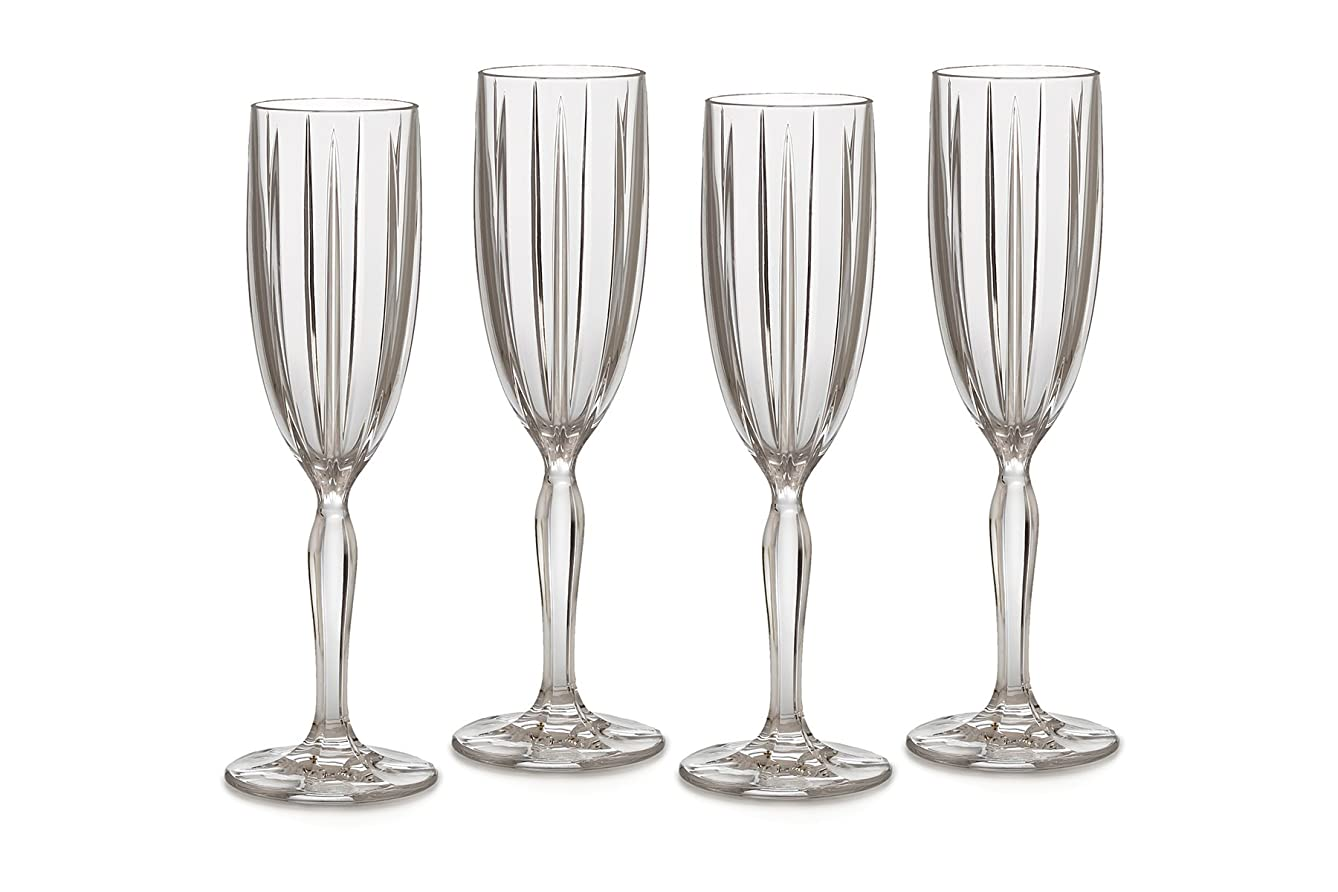 スカルクルーフ銛Marquis by Waterford Omega Flute, Set of 4 by Marquis By Waterford
