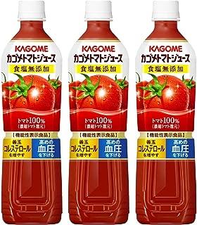 カゴメ トマトジュース食塩無添加 スマートPET 720ml×3本 [機能性表示食品]