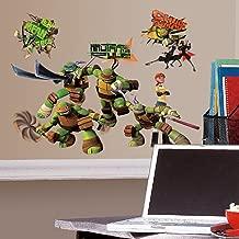 RoomMates Teenage Mutant Ninja Turtles Peel and Stick Wall Decals - RMK2246SCS