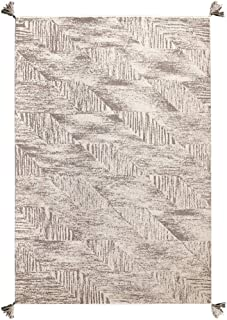 Admir Wool Area Rug Runner Hardwood Floor, Exotic Carpet Tassel Vintage Bedside Rug Bedroom Living Room Soft Matt Mat Sofa-a 130x190cm(51x75inch)