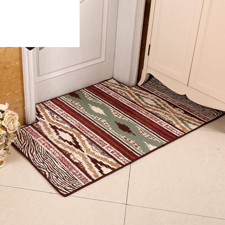 Floor Mat Doormat Indoor Mats Simple Modern,Household Use,Water Absorption and Anti-skidding Mat Indoor Mat Hall,Doormat-J 120x180cm(47x71inch)