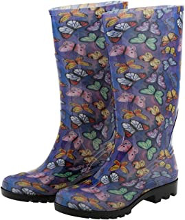 GreaterGood Ultralite Flight of The Butterfly Rain Boots