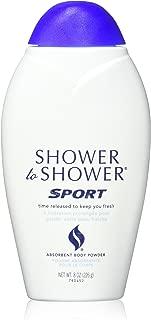 SHOWER TO SHOWER Body Powder Sport 8 oz