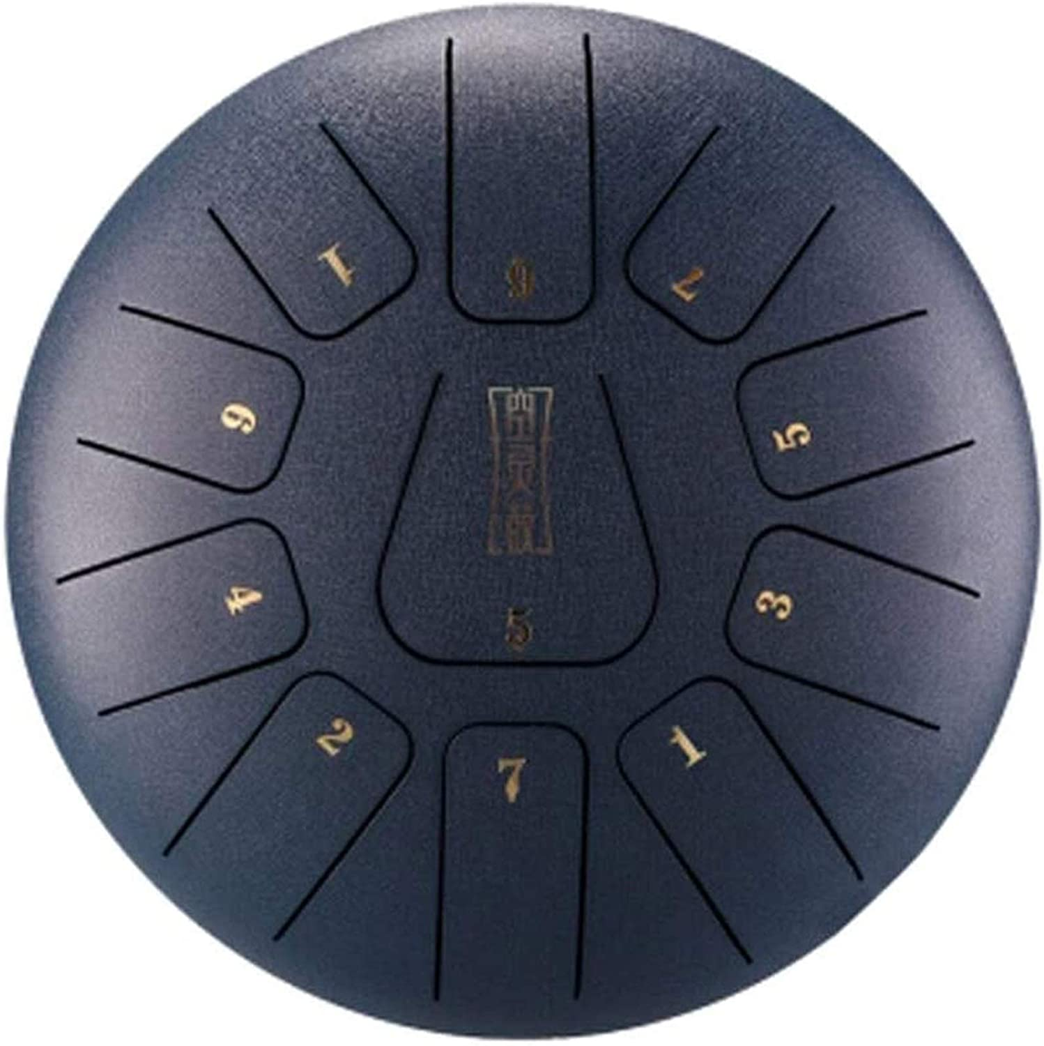 Max 74% Las Vegas Mall OFF Steel Tongue Drum Handpan Notes 11 10 Inches