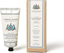 product image for Caswell-Massey Centuries Sandalwood Hand Creme – Shea Butter Hand Moisturizer With A Natural Sandalwood Scent, 2.25 oz
