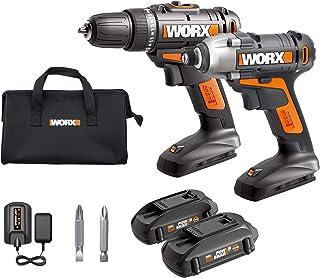 WORX WX944L - Broca inalámbrica de 20 V, WX101L y 20 V, batería y cargador incluidos, batería WX290L