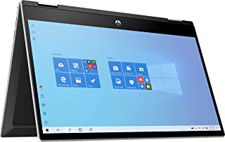 """HP Pavilion x360 14M-DW0013DX 2-IN-1 Laptop- 14"""" Touch, Intel Core i3-1005G1, 1.2GHz, 8GB, 128GB, Intel UHD Graphics, Win1..."""