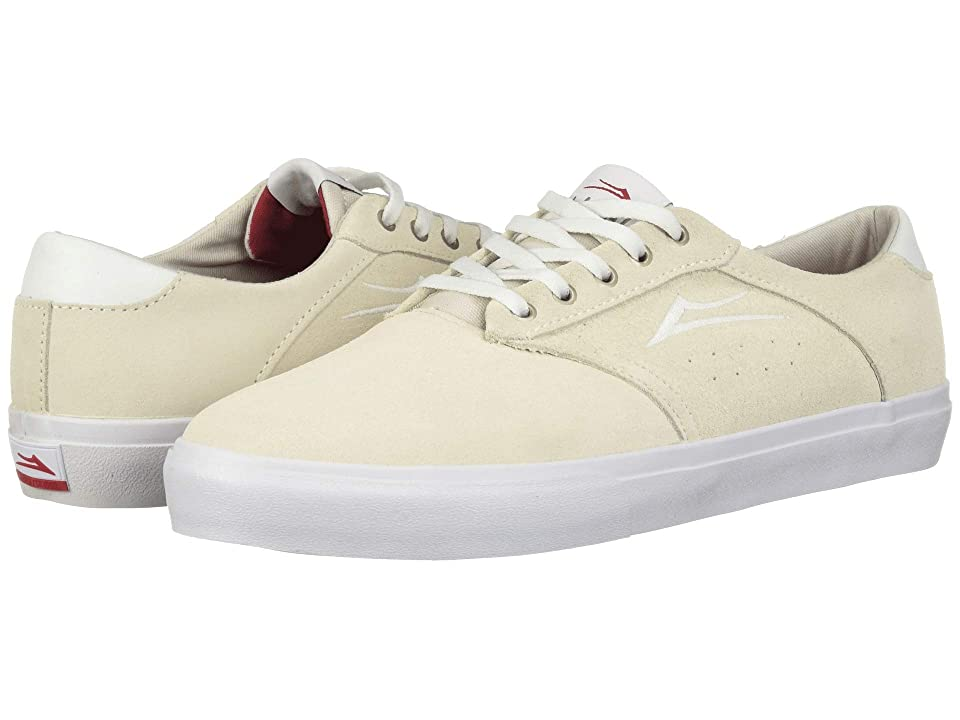 Lakai Porter (White Suede 1) Men