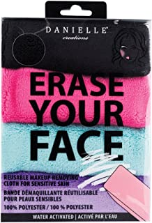 Erase your Face re-usable makeup remover Cloths (4 Pack)