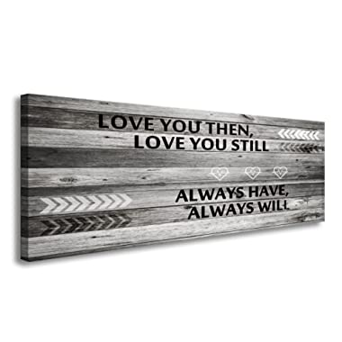 A71841 Wall Art Love You Still Large Wall Art Canvas ( Ready To Hang) For Master Bedroom Wall Decor bathroom decor