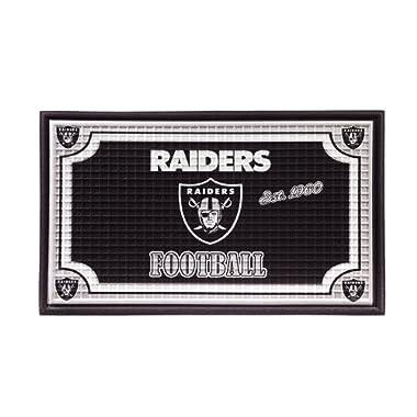 Team Sports America 41EM3822 Oakland Raiders Embossed Door Mat