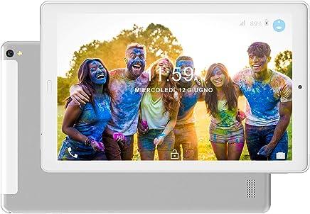Tablet PC10.1 Pollici 4G LTE Dual SIM /WiFi tablet Android 8.0 con 3GB di RAM e 32GB ROM Batteria 8000mAh- Argento - Confronta prezzi