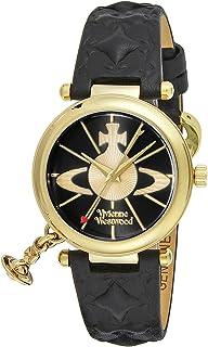[ヴィヴィアン・ウエストウッド]VivienneWestwood 腕時計 オーブⅡ ブラック文字盤 カーフ革 VV006BKGD レディース 【並行輸入品】