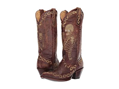 Old Gringo Selfie (Brass) Cowboy Boots