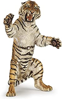 Papo Standing Tiger Figure, Multicolor