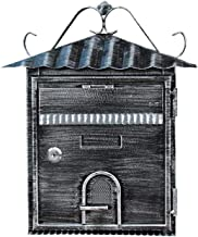 ZZYE Outdoor Retro Vintage Mailboxes, European Style Mailbox Buiten Aluminium Wall Mount Postbus Beveiligde Brievenbox bri...