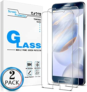 KATIN Galaxy Note 5 Screen Protector - [2-Pack] for Samsung Galaxy Note 5 Tempered Glass No-Bubble, 9H Hardness, Easy to Install