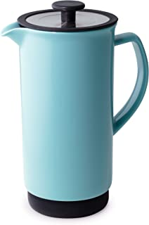 Forlife FL/344-TRQ Cafe Style Coffee/Tea Press, 946 ml, Turquoise