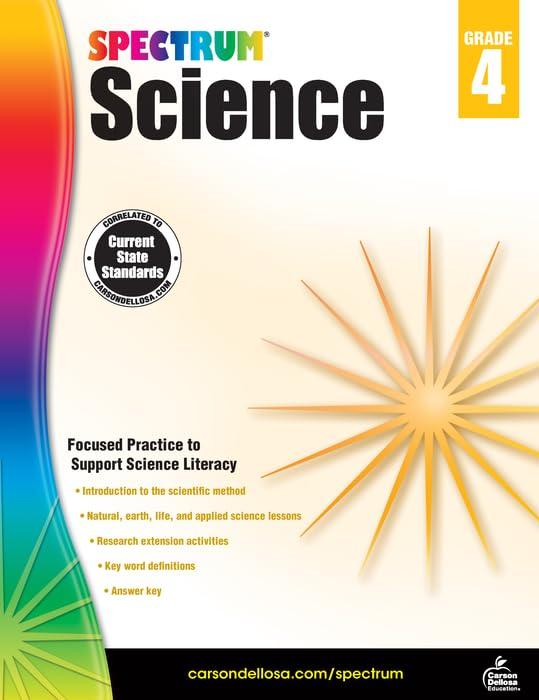 Spectrum Science Fort Worth Mall Workbook Grade 4 5 ☆ popular Printable