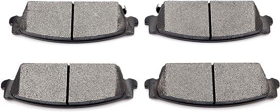 Brake Pads,ECCPP 4pcs Rear Ceramic Disc Brake Pads Kits fit for Cadillac Escalade ESV EXT,for Chevy Avalanche Silverado Su...