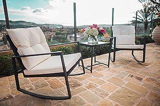 Amazon Com 100 To 200 Patio Furniture Sets Patio Furniture