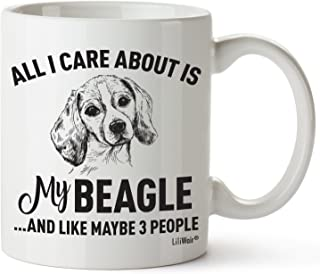 Beagle Mom Gifts Mug For Women Men Dad Decor Lover Stuff I Love Beagles Coffee Merchandise Accessories Talking Art Apparel Funny Birthday Gift Home Supplies Products Dog Coffee Cup Mugs