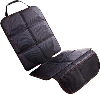 NEXSIA チャイルドシート 保護マット 1680D素材 滑り止め 車 座席保護 シートプロテクター (1680D素材,1点(保護マット))