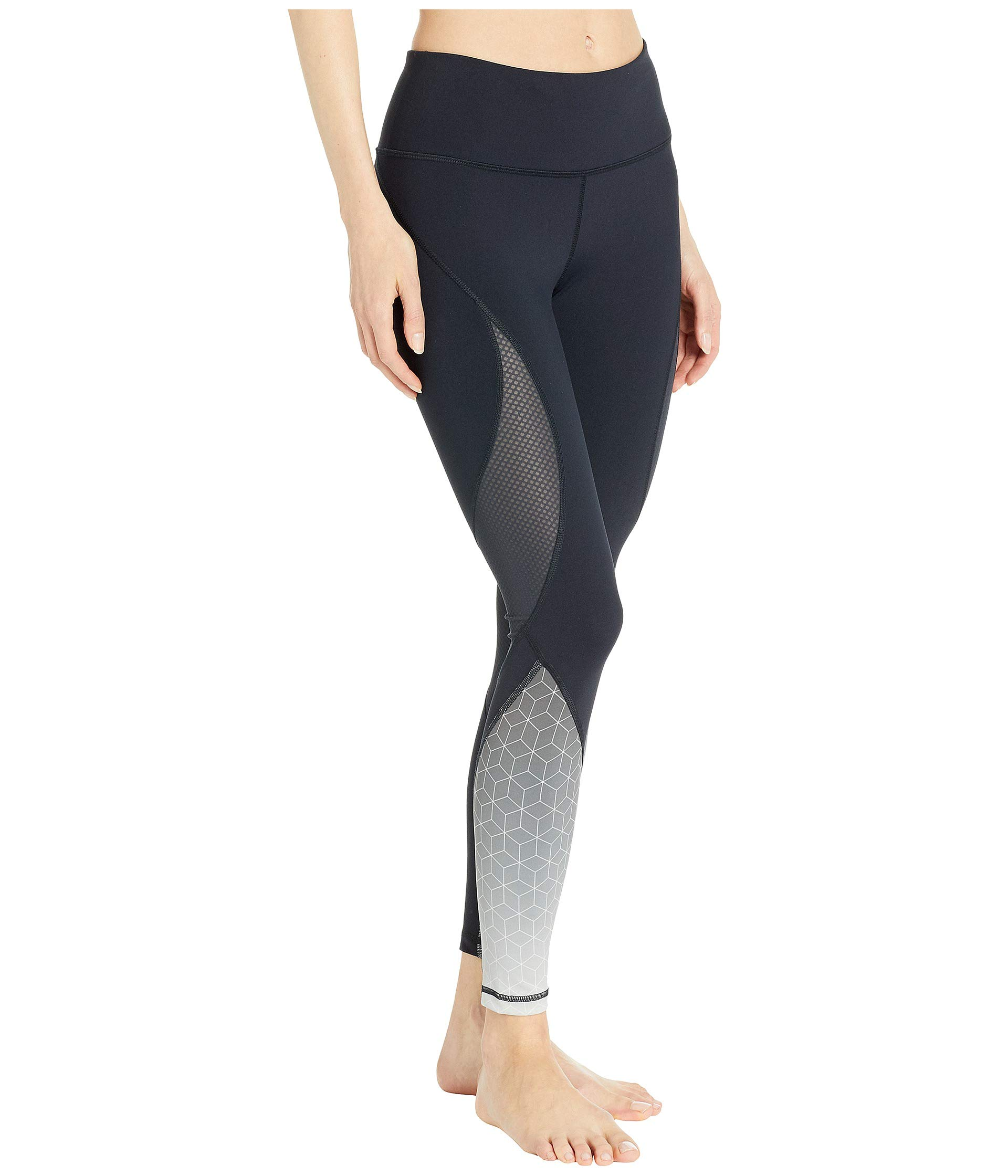Stealth Diamond Black Leggings Activewear Shape 5CwUxgAqW