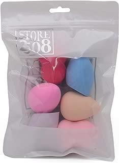 Store2508® Makeup Beauty Foundation Blender Puff Sponge (Pack of 6)