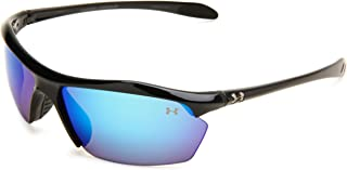 نظارات شمسية من اندر ارمور زون XL، عدسات أسود/ رمادي، مقاس واحد