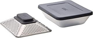 Joseph Joseph 20104 Prism Box Grater with Container and Lid, Gray