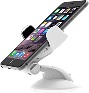 iOttie Easy Flex 3 Car Mount Holder for iPhone 7/6s/6, Galaxy S7/S7 Edge, S6/S6 Edge - Retail Packaging – White