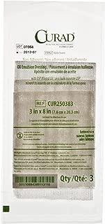 Curad CUR250383HH Dressing, Gauze, Oil Elms, 3