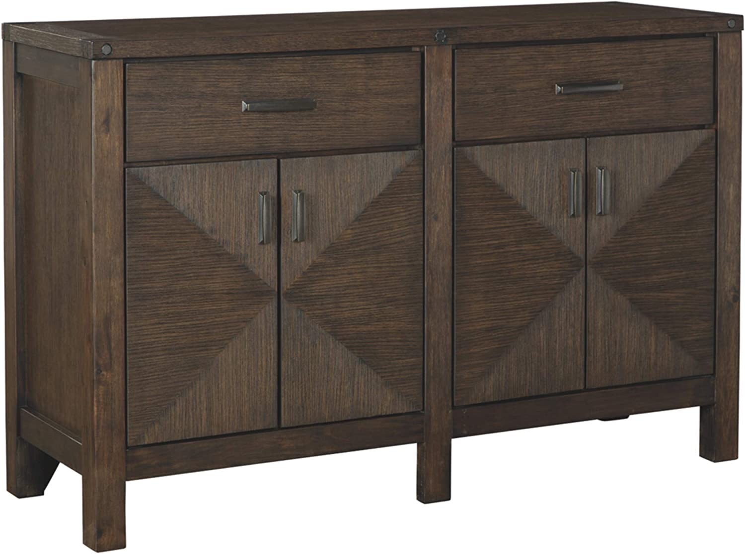 Signature Design by Ashley Dellbeck Server New item Brown Dining depot Room