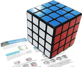 スピードキューブ 4×4×4 立体パズル ポップ防止 競技用 回転スムーズ ストレス解消 世界基準配色 [rinda]