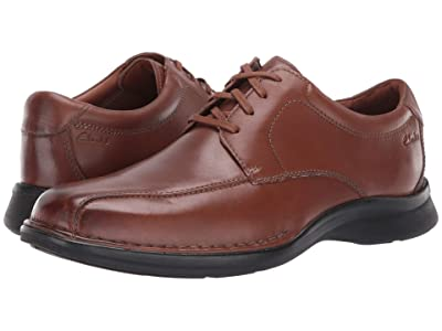 Clarks Kempton Run (Tan Leather) Men