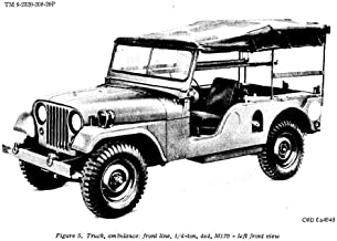 Four (4) WWII And Vietnam Era Jeep Manuals - WILLYS OVERLAND Model MB - FORD GPW, M38A1 M38A1C M170 Repair Parts, M38 M38A1 M170 JEEP Repair Parts, And 1/4 -TON 4x4 M38 Powertrain Body And Frame