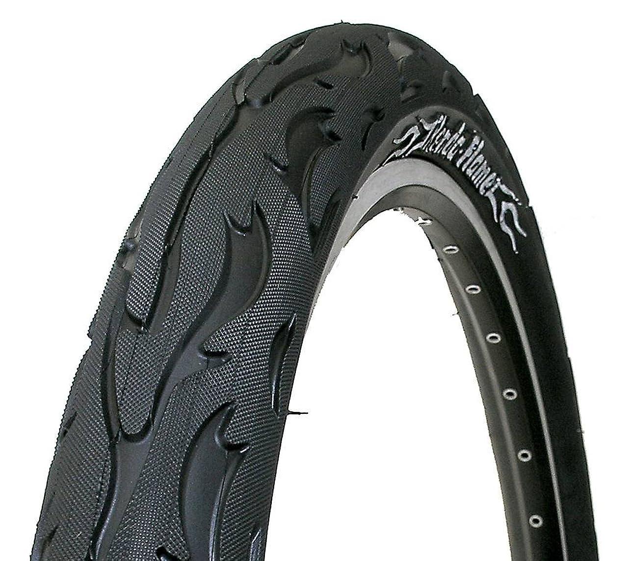 安全でないとても酸っぱいKenda フレームブラック BMX バイクタイヤ 20 x 2.25 K1008A 22TPI AA138