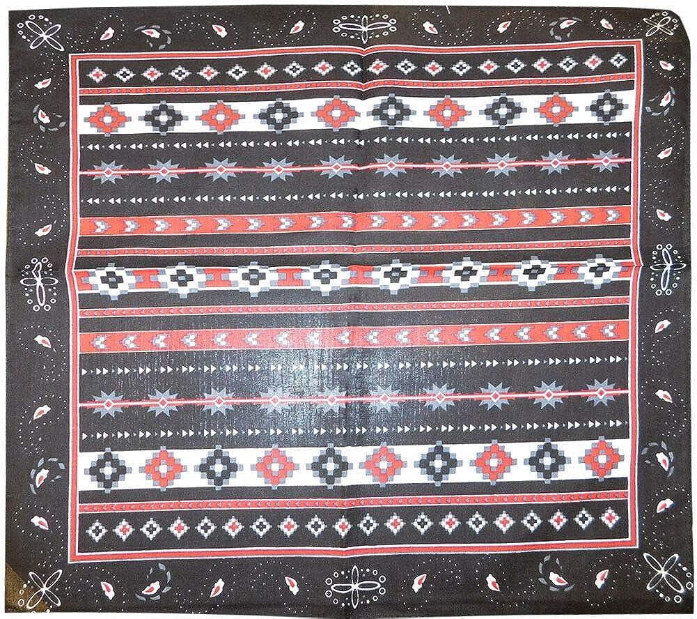 Tribal Aztec Paisley Black 22