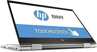 HP 惠普 Envy x360 39.62 厘米(15.6 英寸全高清 IPS)可转换?#22987;?#26412;电脑银 Dark ash silber