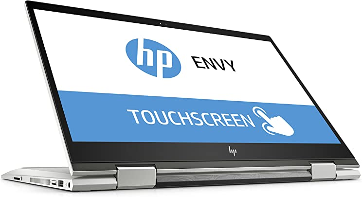 HP ENVY x360 15-cn0001ng  Touchdisplay 15 6 Zoll Full HD IPS  Convertible Laptop  Intel Core i5-8250U  TB HDD 128 GB SSD  GB RAM  Intel UHD Graphics  Windows 10 Home 64  Silber