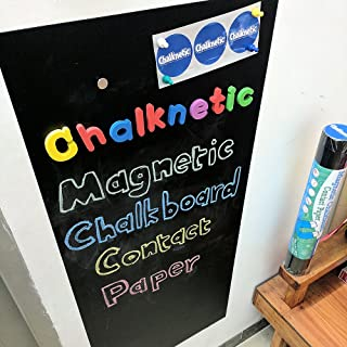 Chalknetic Magnetic Chalkboard Contact Paper, 39.3