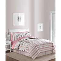 6-Piece Sunham Irene Reversible Twin Comforter Set
