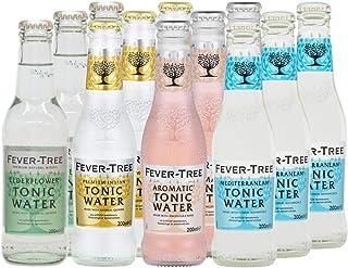 Fever-Tree Set Tonic Water, 3 x Mediterranean, 3 x Premium Indian, 3 x Aromatic, 3 x Elderflower 12 Flaschen Mix