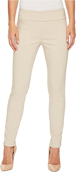 Elliott Lauren Control Stretch Pull-On Ankle Pants with Back Slit Detail